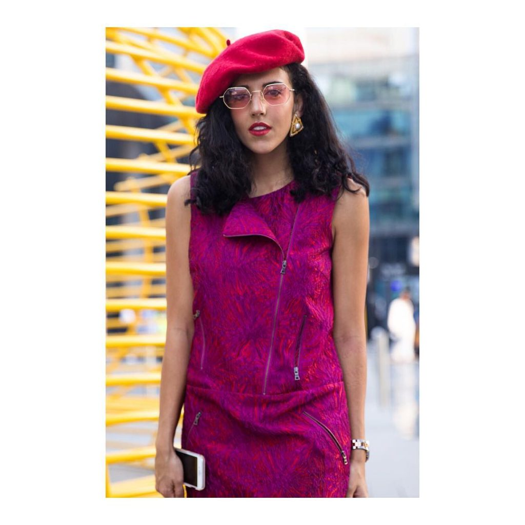 hadiaghaleb painting the town red and pink! ffwddxb dubaistreetstyle d3hellip