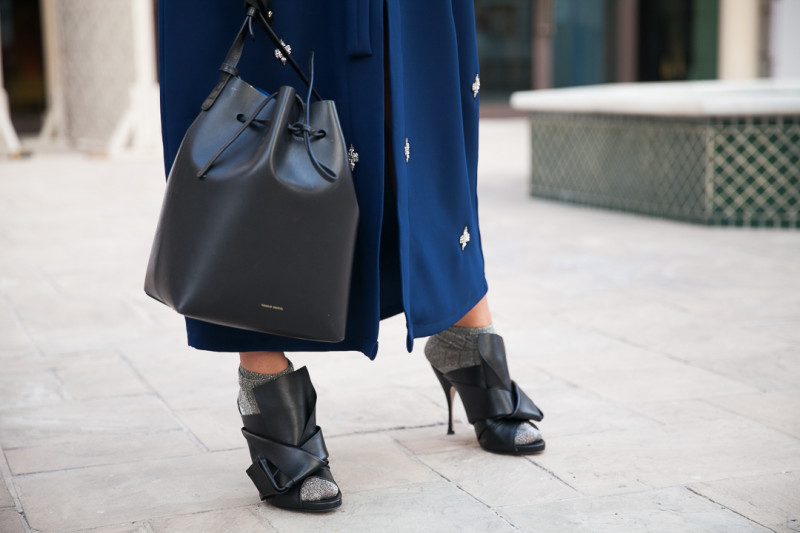 street style shoes and bags