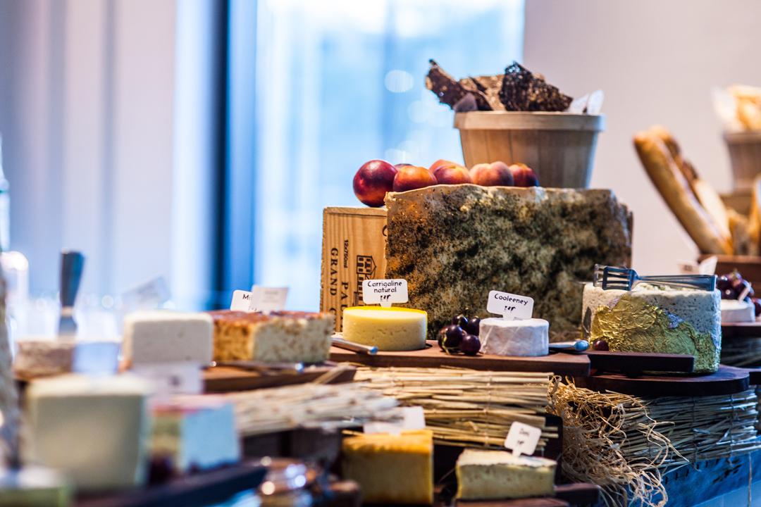 cheese and wine in vida downtown dubai