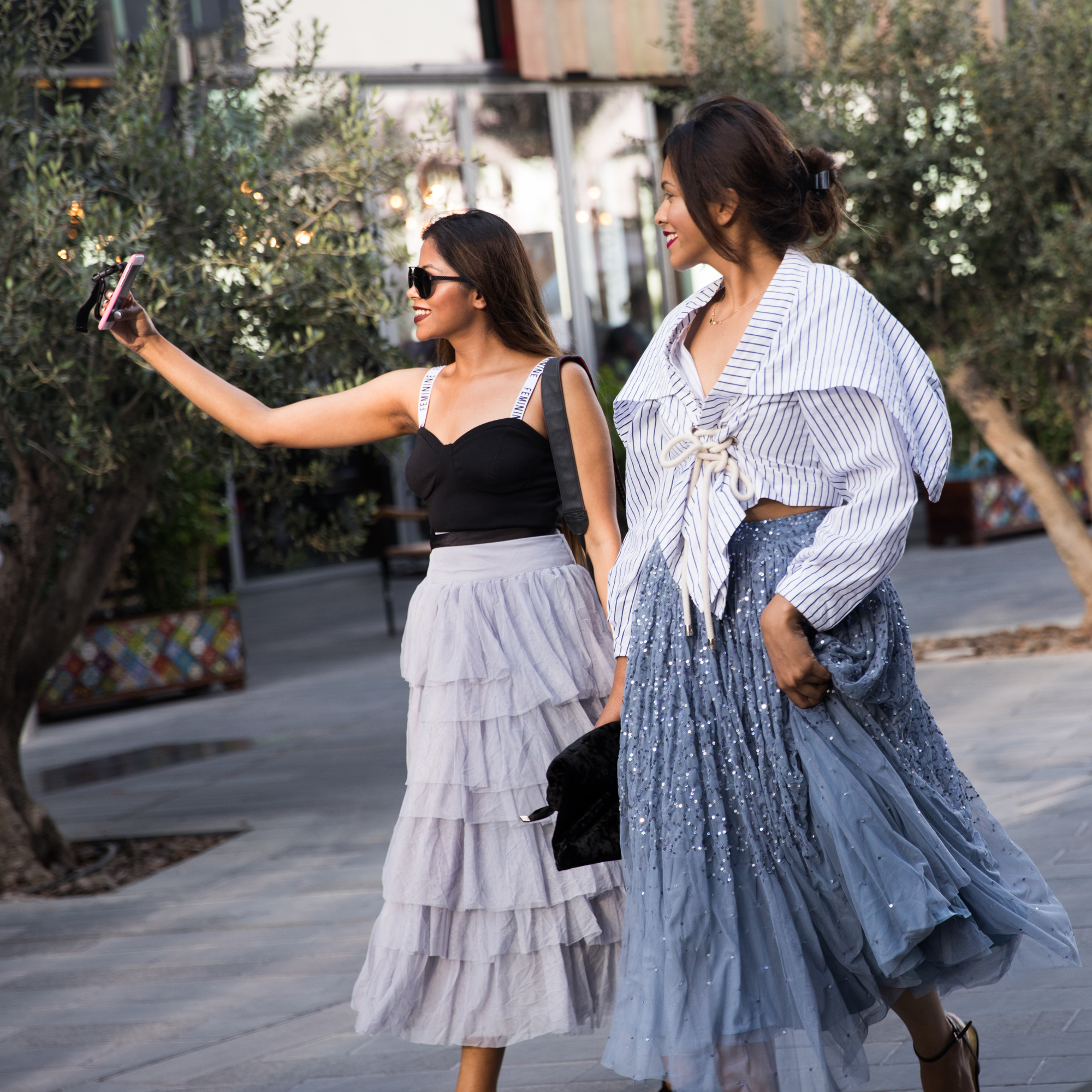 fashion forward dubai street style 2017