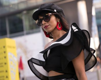 fashion forward dubai street style 2017