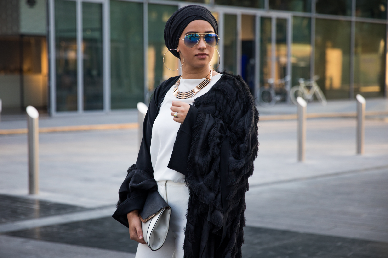 Hijab Street Style Sand In The City